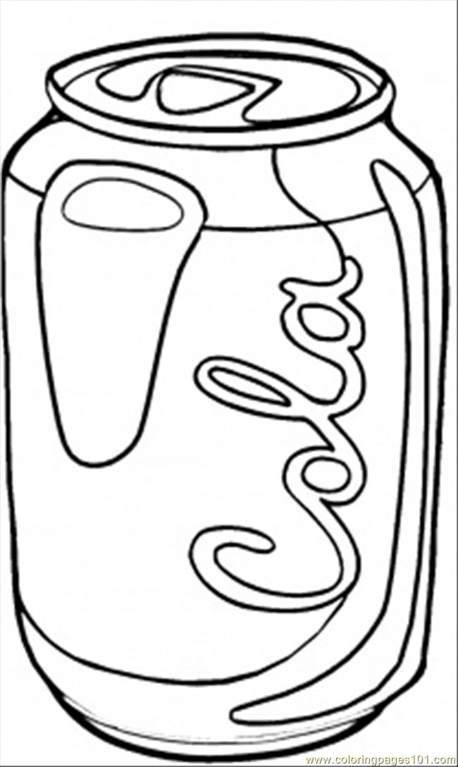 soda coloring pages - photo#4