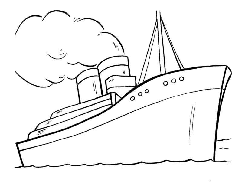 Colouring I Pictures Ship Coloring Pages To Download And Print For Free