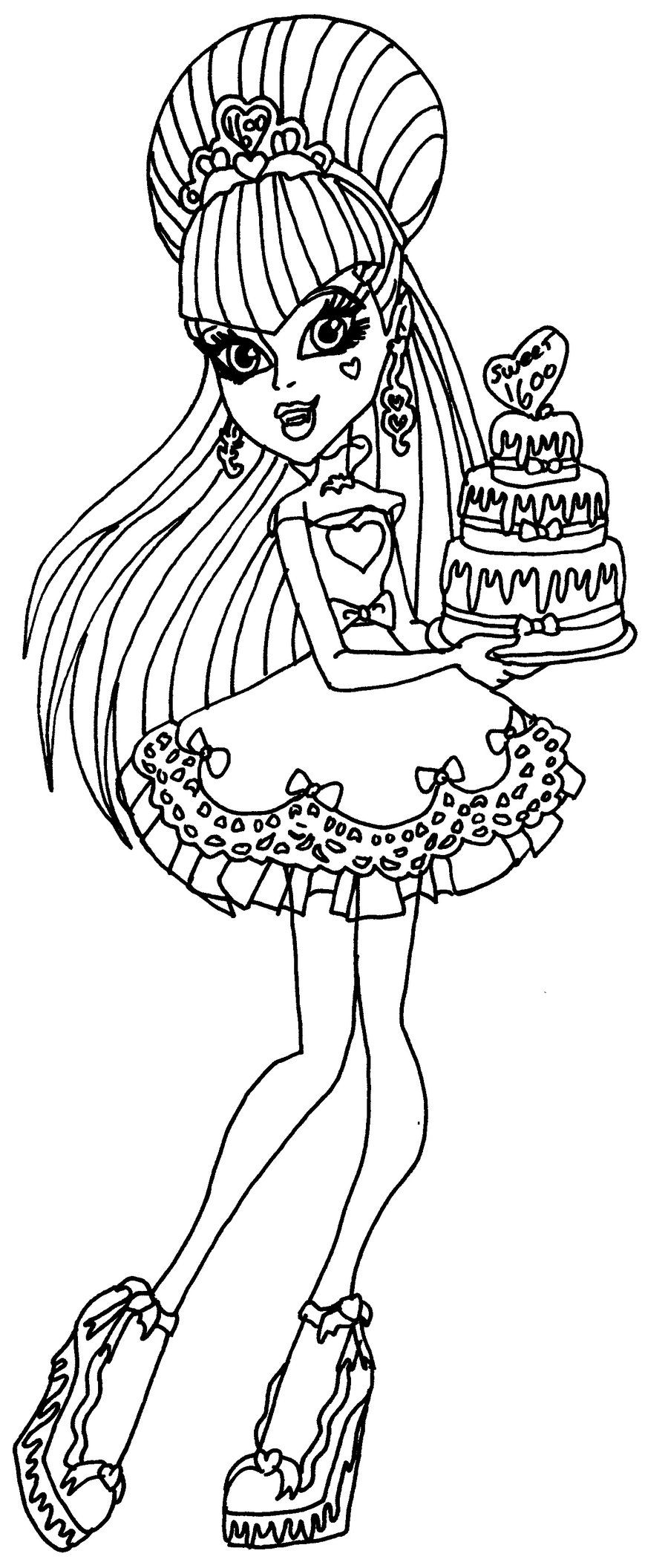 seven little monsters coloring pages - photo#37