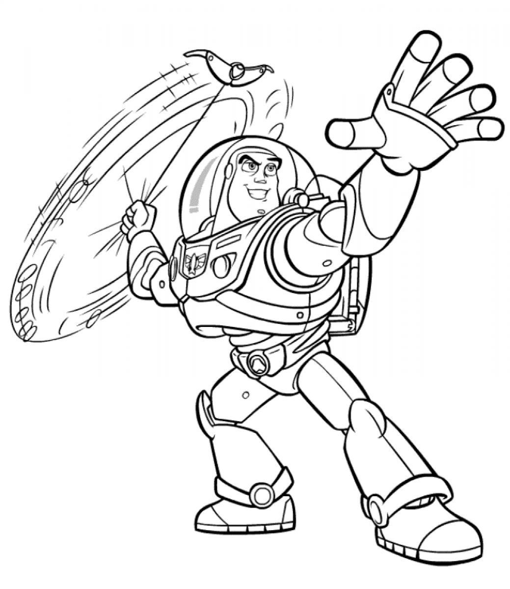 Buzz and zurg coloring pages download