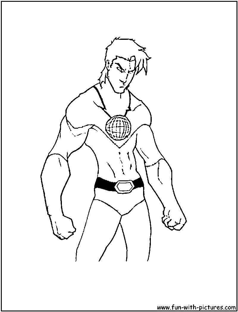 captain planet coloring pages download and print for free
