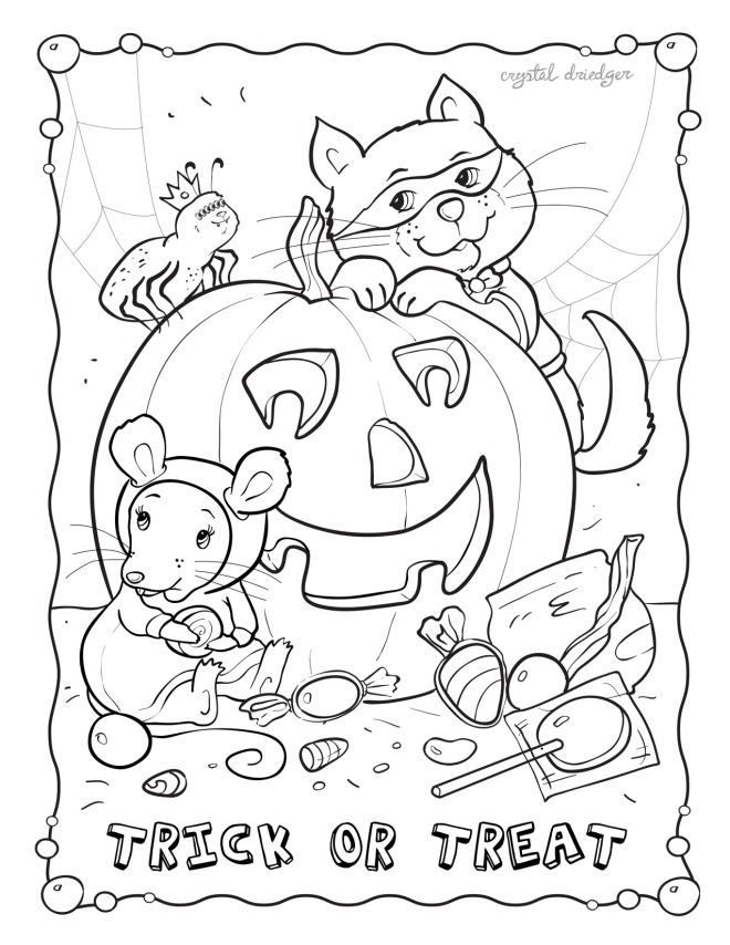 October Coloring Pages To Download And Print For Free October Coloring Page