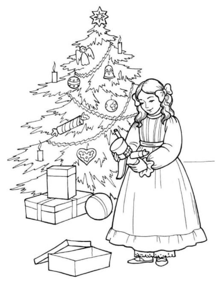 Nutcracker coloring pages to download