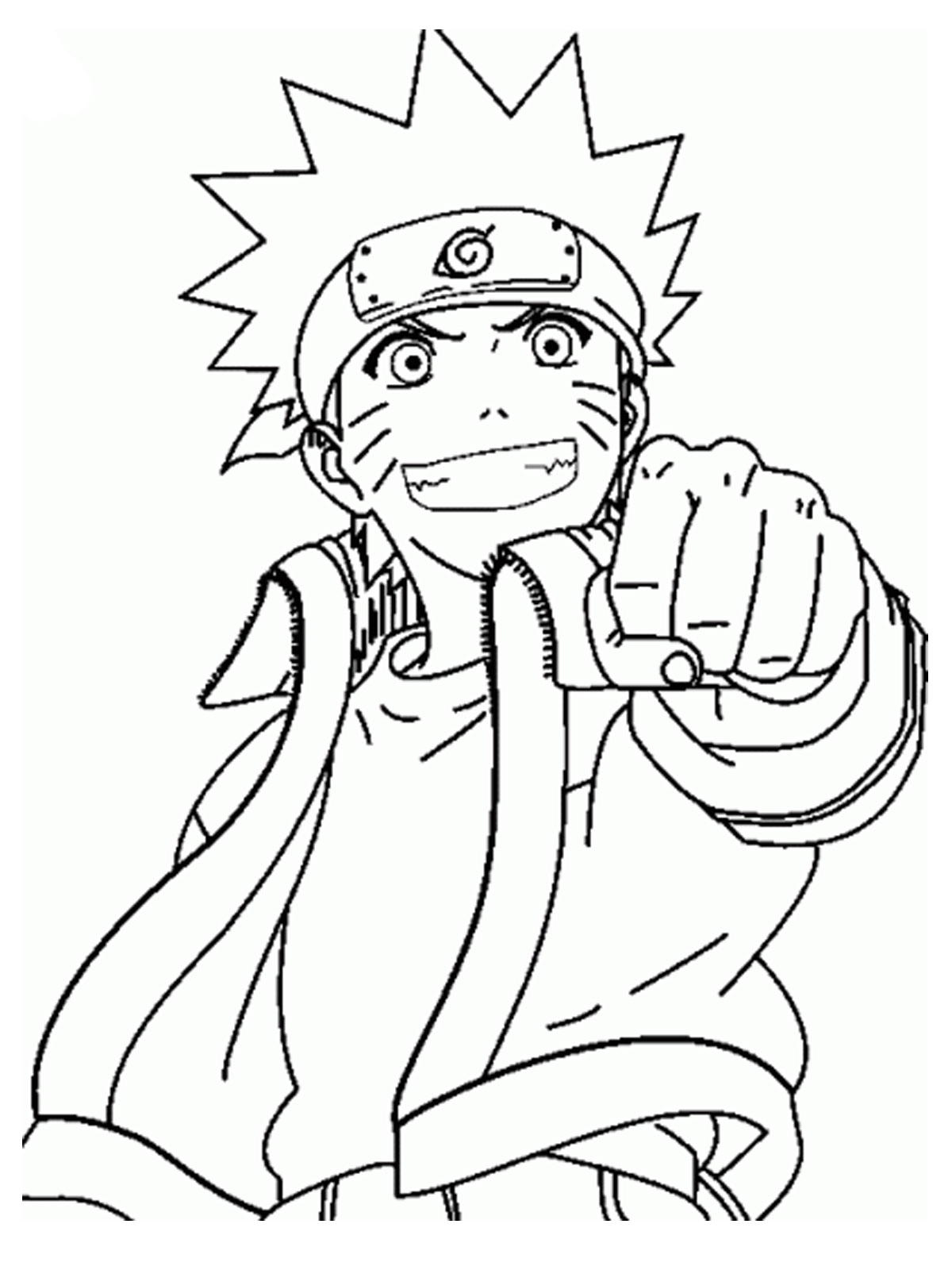 Adult Cute Naruto Color Pages Images best naruto shippuden coloring pages to download and print for free images