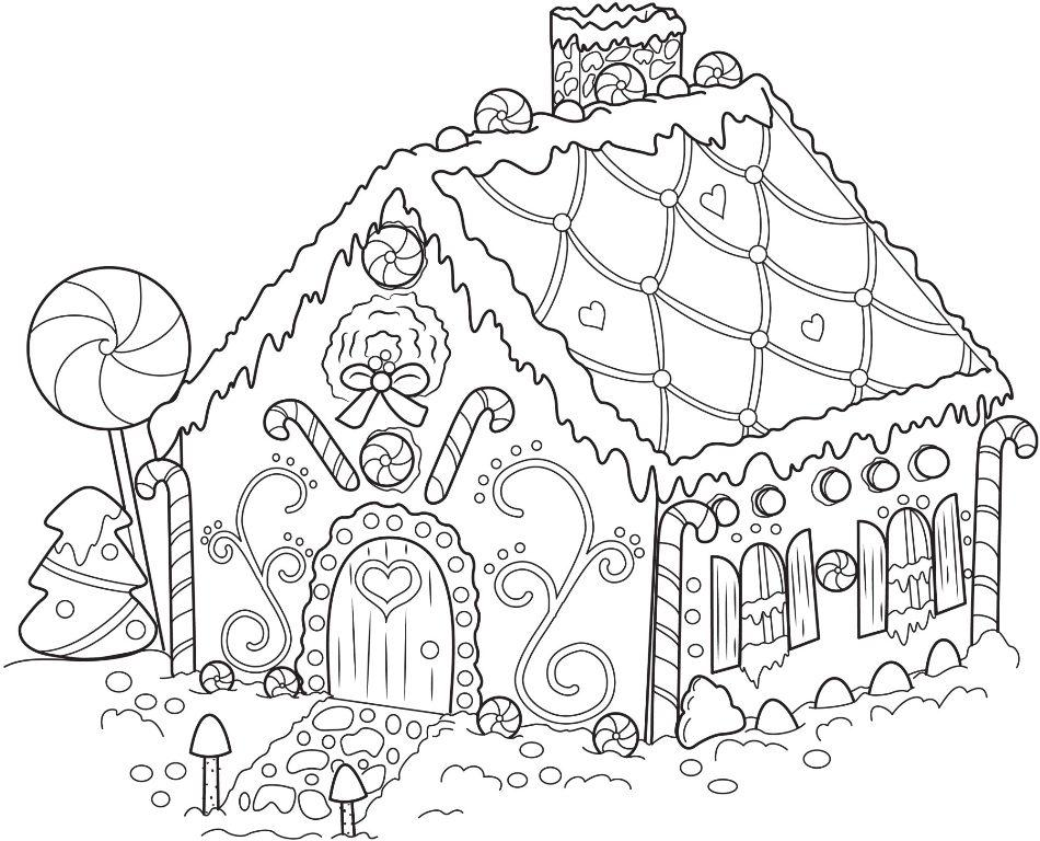 Is For House Coloring Pages Spring House Coloring Pages For Kids