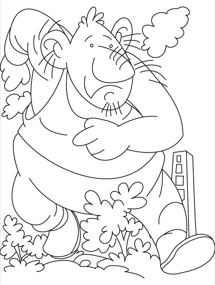 awesome giant coloring pages images - printable coloring pages ... - Selfish Giant Coloring Pages