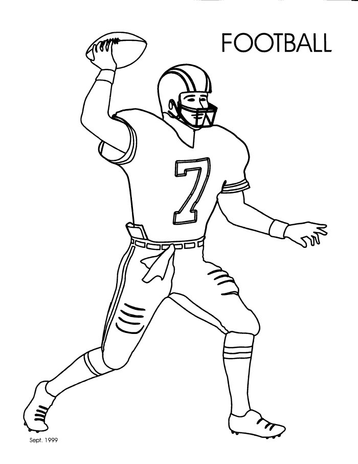 Emejing Football Coloring Books Ideas - New Coloring Pages ...
