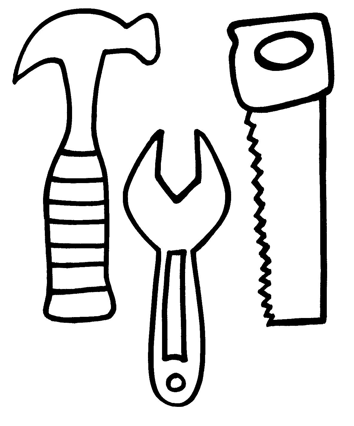 tools coloring page tool coloring pages to download and print for free