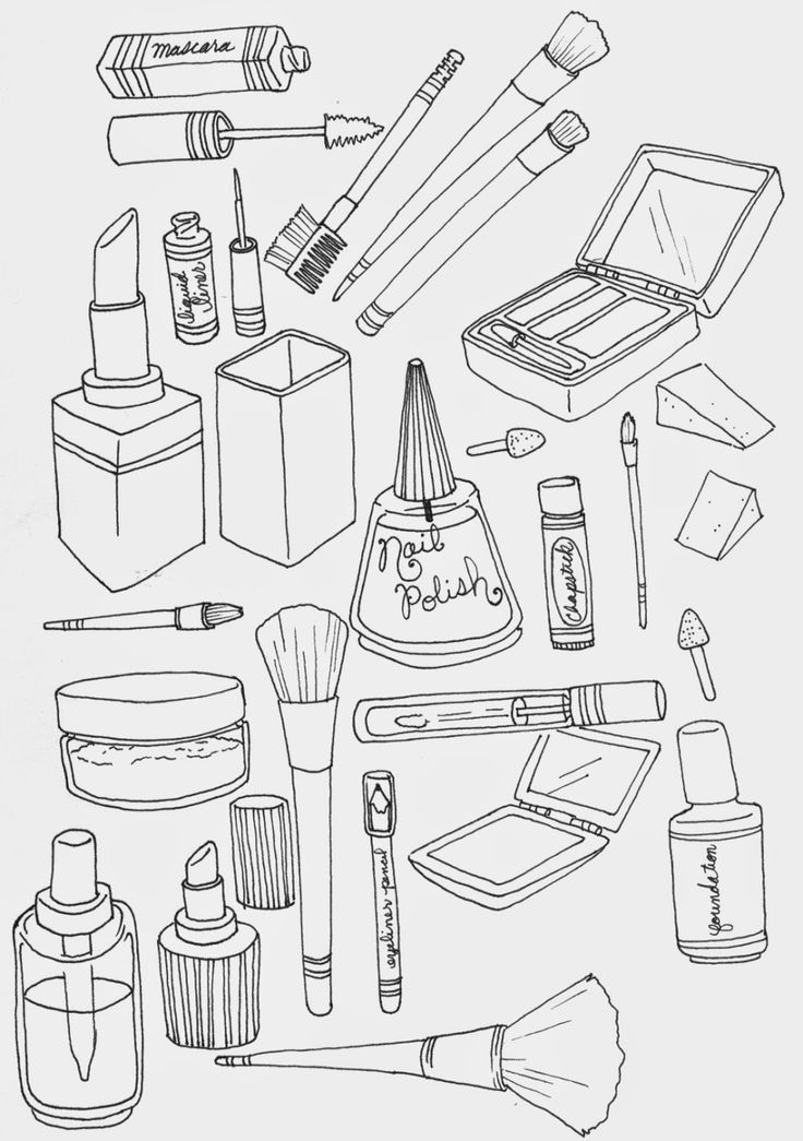 hair salon coloring pages - photo #28