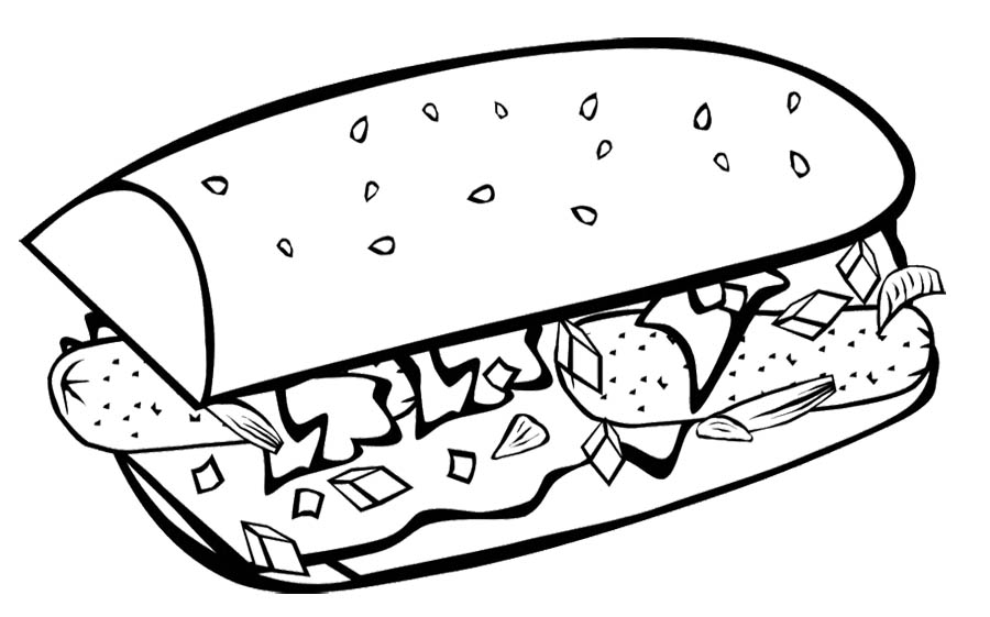Breakfast Coloring Pages Download And Print For Free