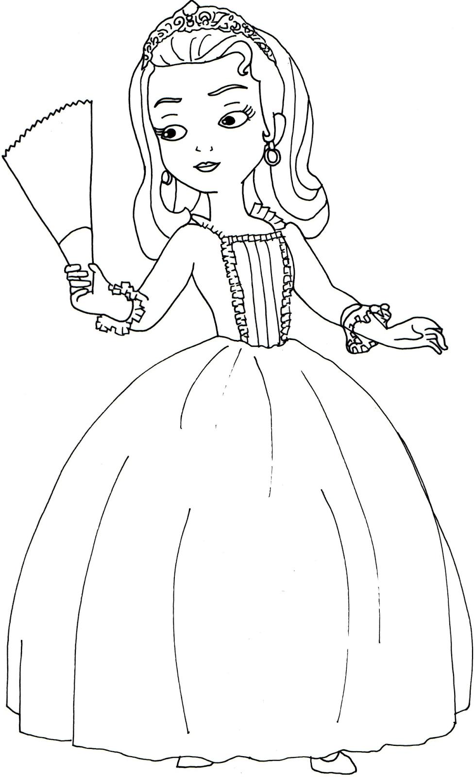 Princess amber coloring pages - Princess Amber Coloring Pages 0