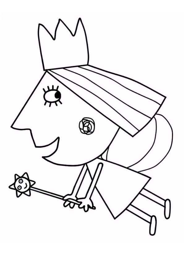 Little kingdom Ben and Holly\'s coloring pages to download and print ...