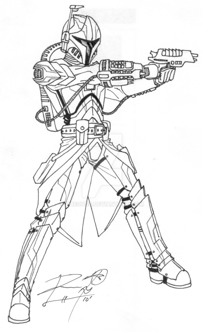 Malvorlagen Kostenlos Star Wars: Mandalorian Coloring Pages Download And Print For Free