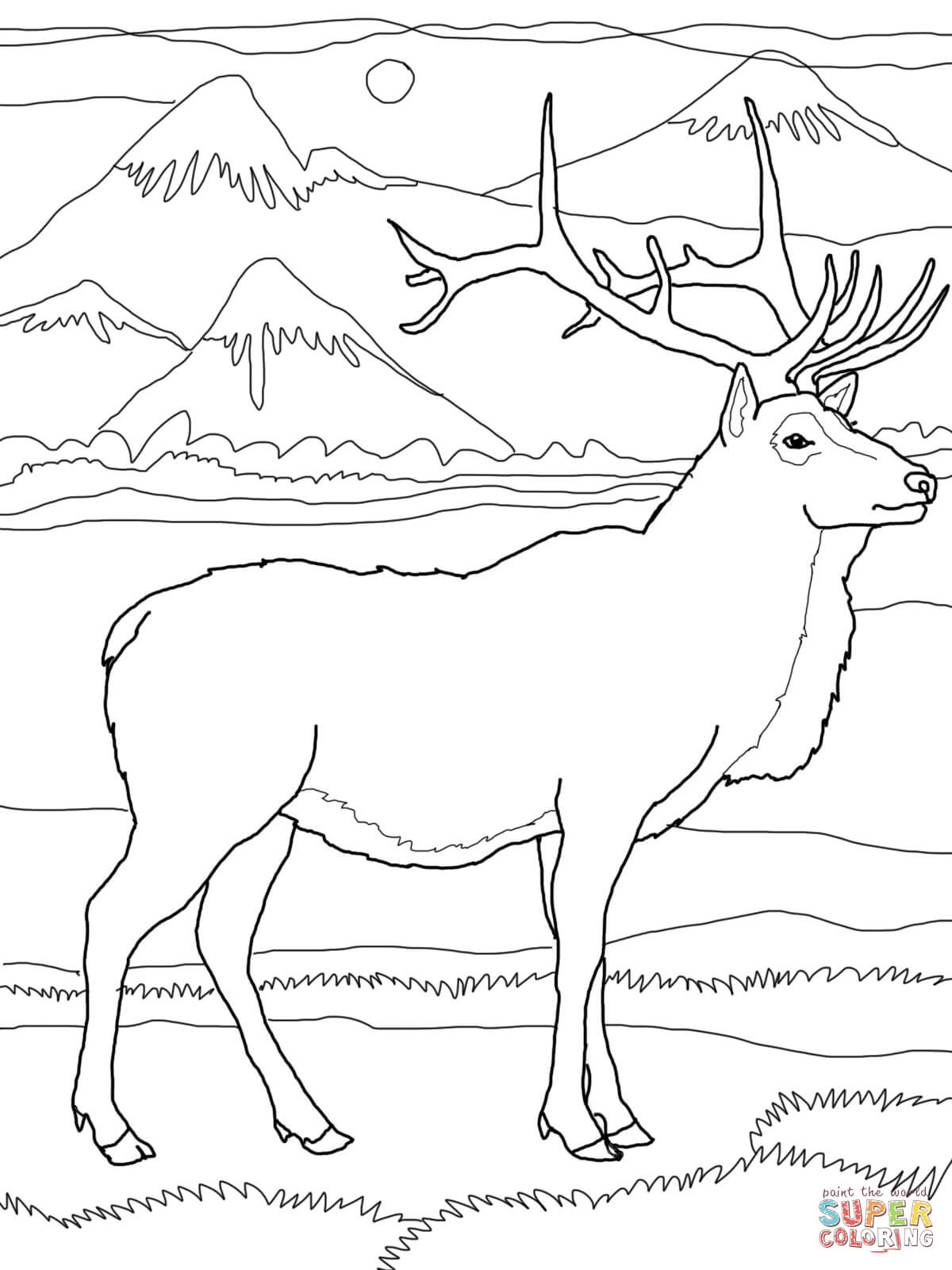 100 ideas Baby Elk Coloring Pages on emergingartspdxcom