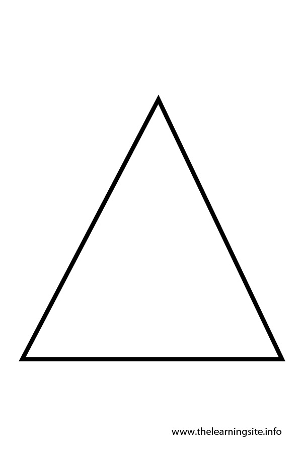 Triangles coloring pages download