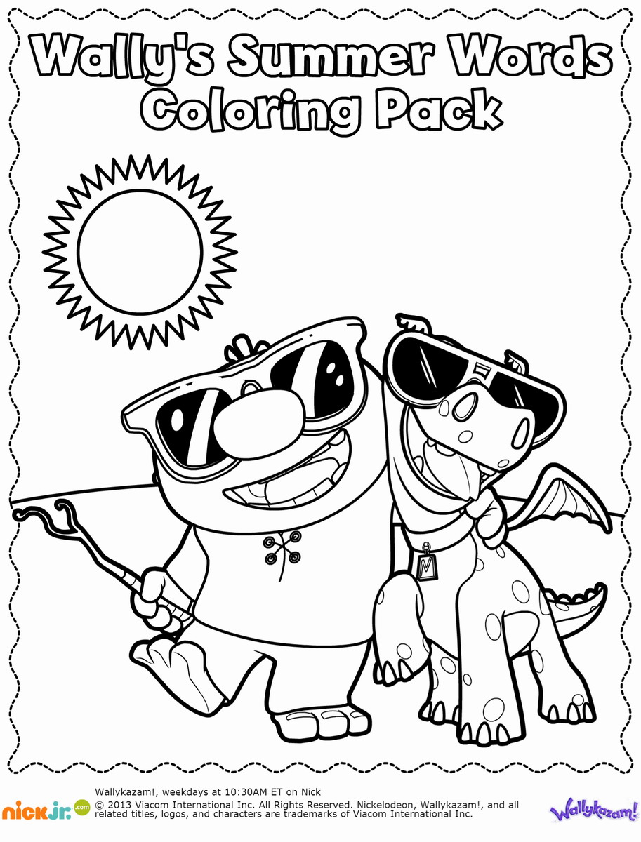 Malvorlagen Tv: Wallykazam Coloring Pages Download And Print For Free