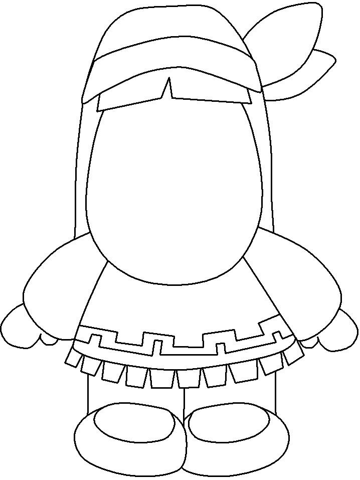 Native american boy coloring pages download and print for free