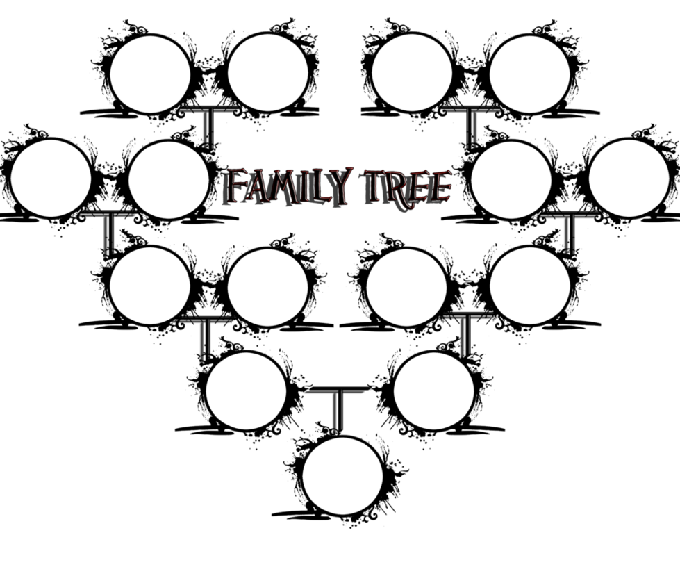 family trees coloring pages download and print for free