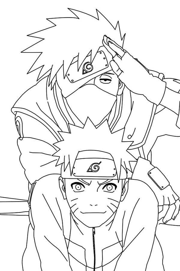 naruto coloring pages to download and print for free