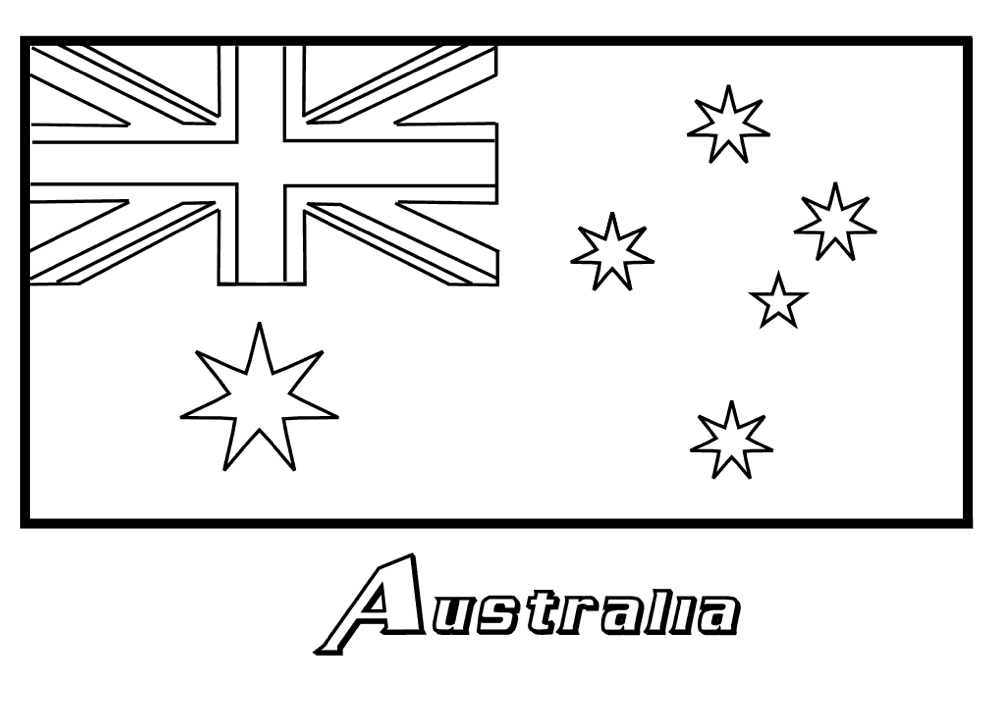 Flag coloring pages to download and print for free for Free printable flags of the world coloring pages
