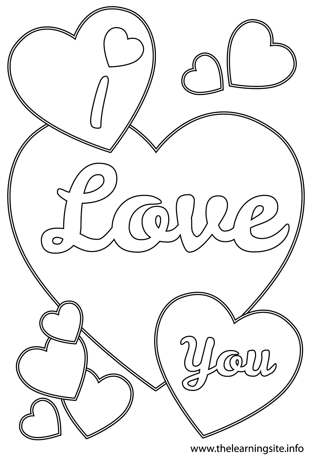 gerety love coloring pages - photo#3