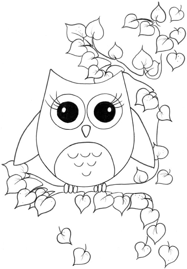 cute pictures coloring pages | Cute girl coloring pages to download and print for free