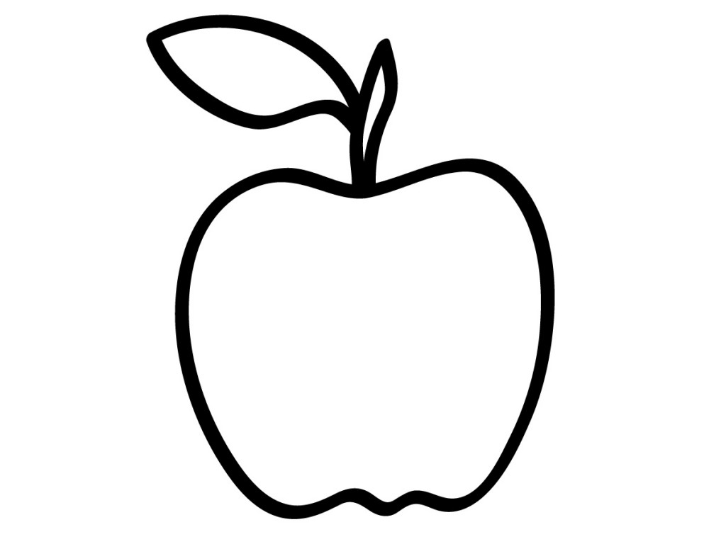 Free coloring pages apples - Free Coloring Pages Apples 4