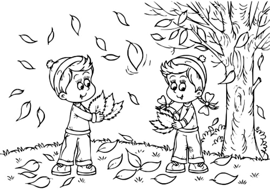 Autumn Coloring Pages To Download And Print For Free