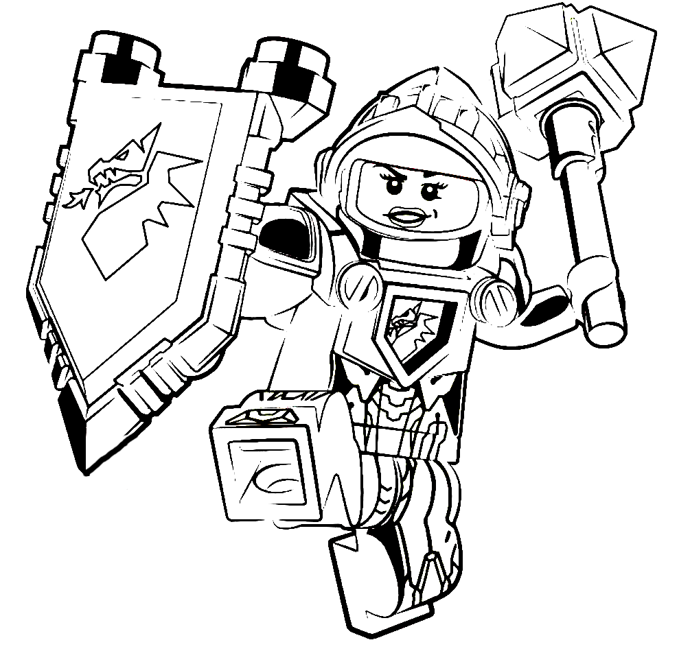 Lego Marvel Coloring Pages To Download And Print For Free: Lego Nexo Nights Coloring Pages To Download And Print For Free