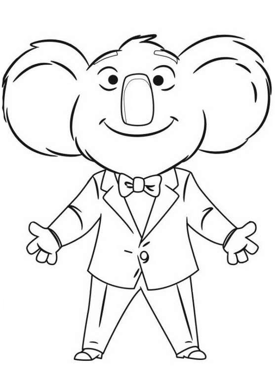 sing coloring pages to and print for free