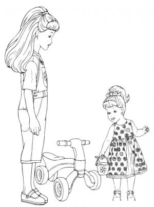 Sisters Coloring Pages To Download And Print For Free