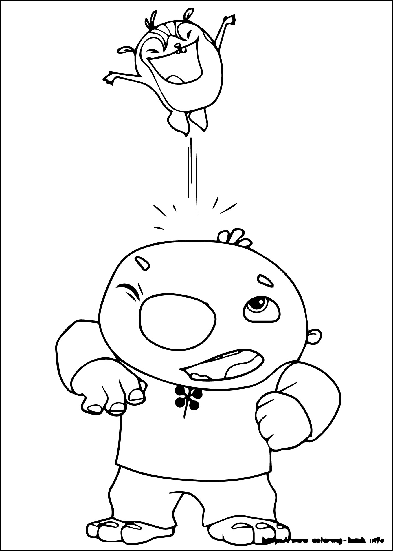 Wallykazam coloring pages download and print for free