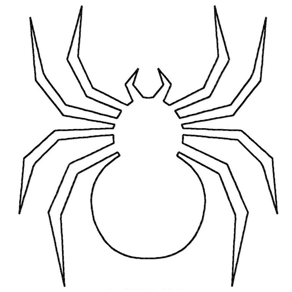 Spider coloring pages to download