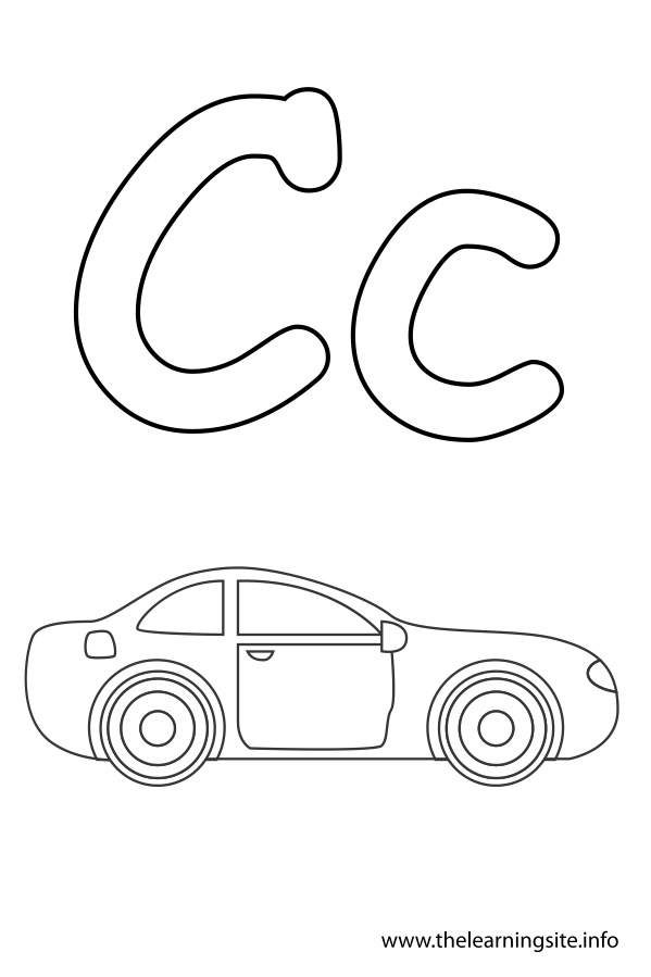 alphabet flash cards coloring pages download and print for