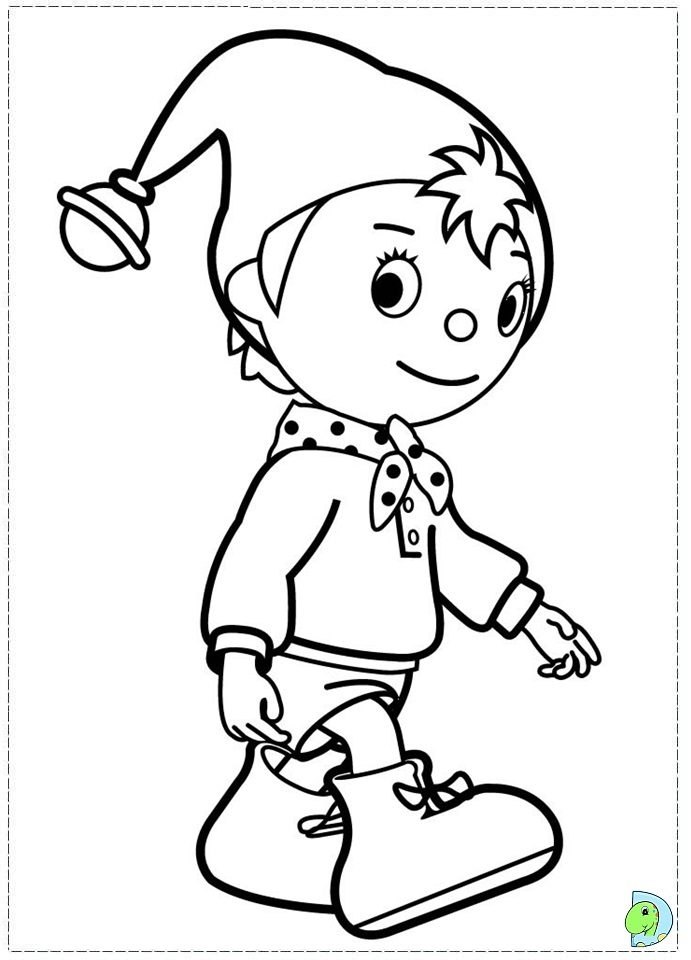 noddy coloring pages - photo#2