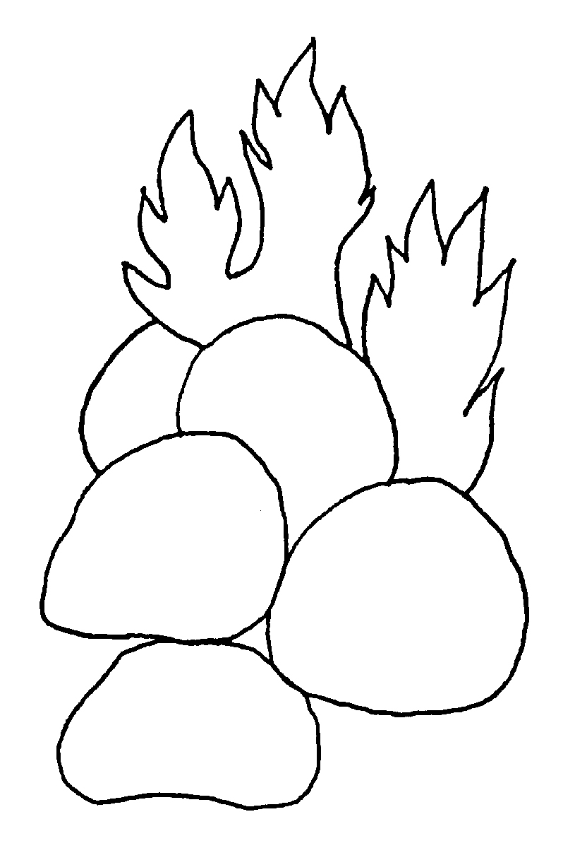 Rock coloring pages to download