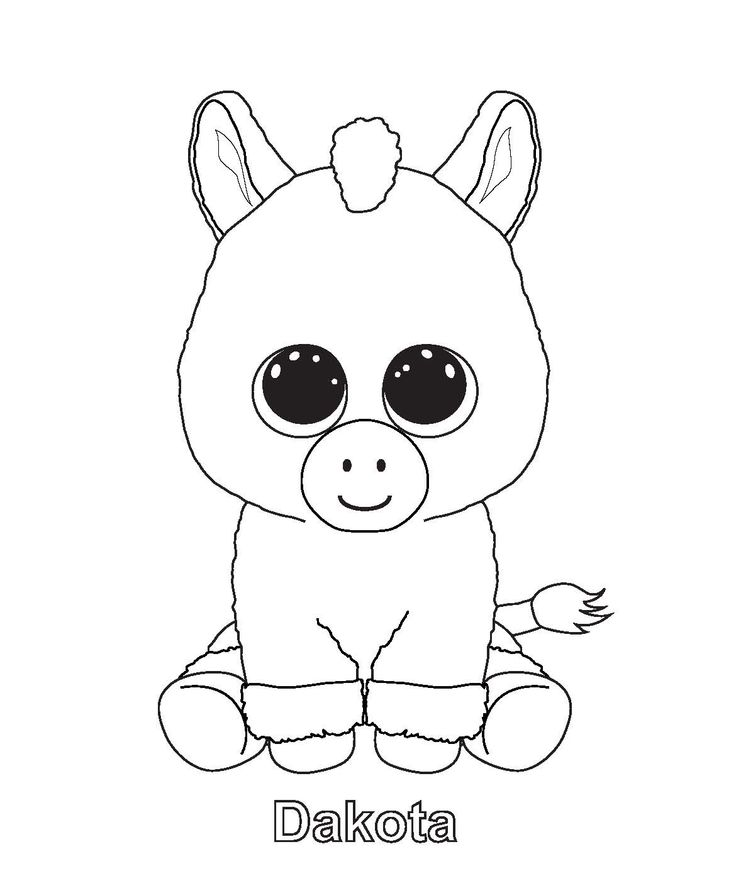 Fnaf 3 Colouring Pictures : Ty beanie boo coloring pages download and print for free