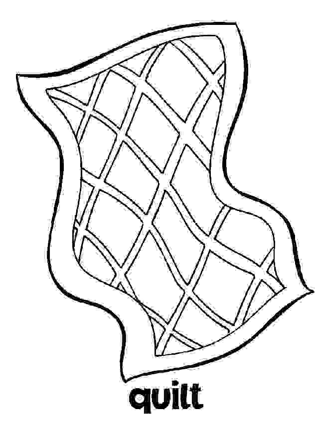 bed pattern coloring pages-#10