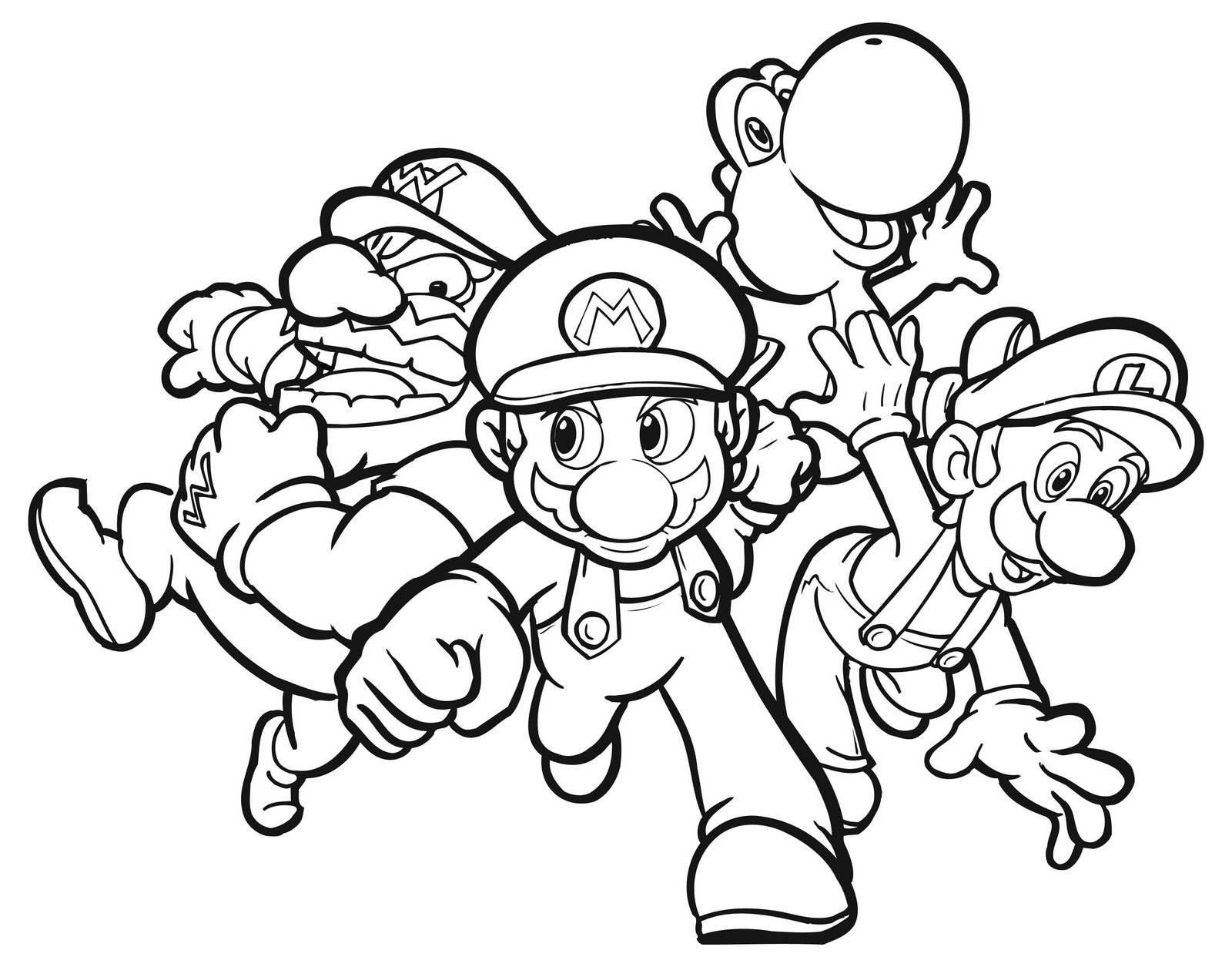 Coloring Pages Video Game Coloring Pages video game coloring pages to download and print for free pages
