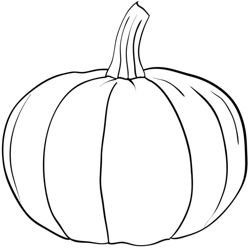 Apples And Pumpkins Coloring Pages : Pumpkin coloring pages to download and print for free