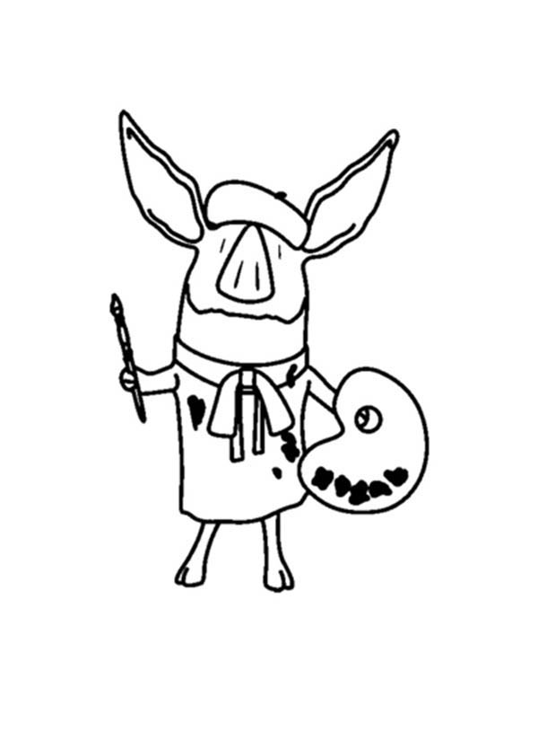 olivia coloring pages for kids - photo#13