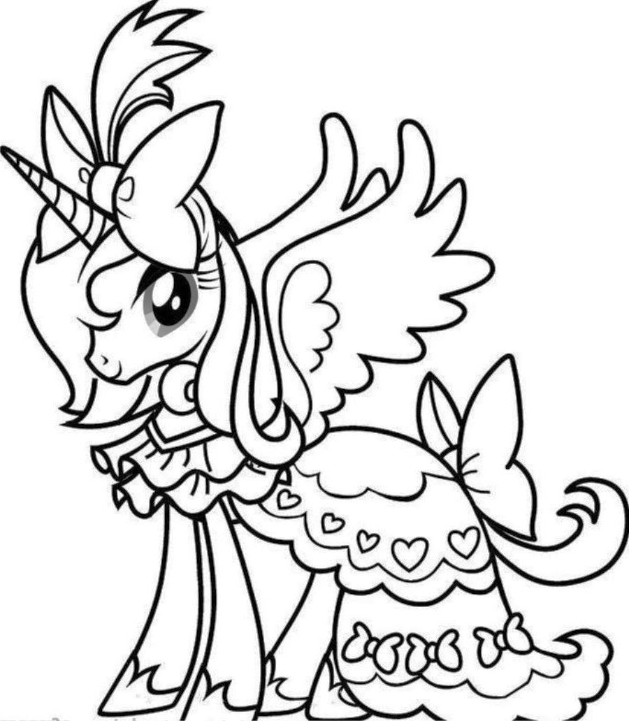 It's just an image of Clean Unicorn Coloring Pages Free Printable