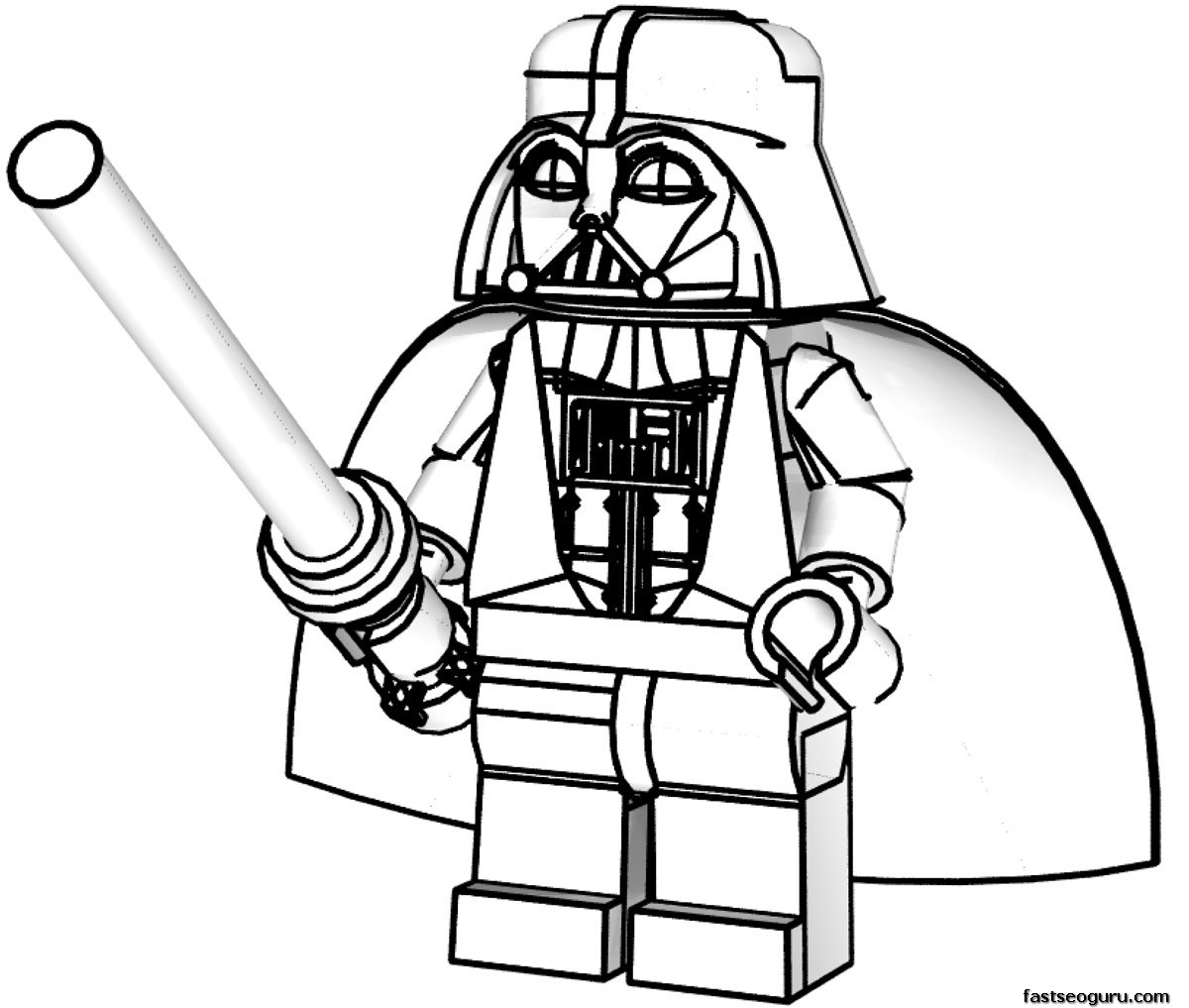 lego star wars coloring pages - Free Lego Coloring Pages