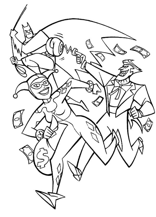 harley quinn coloring pages - photo#14