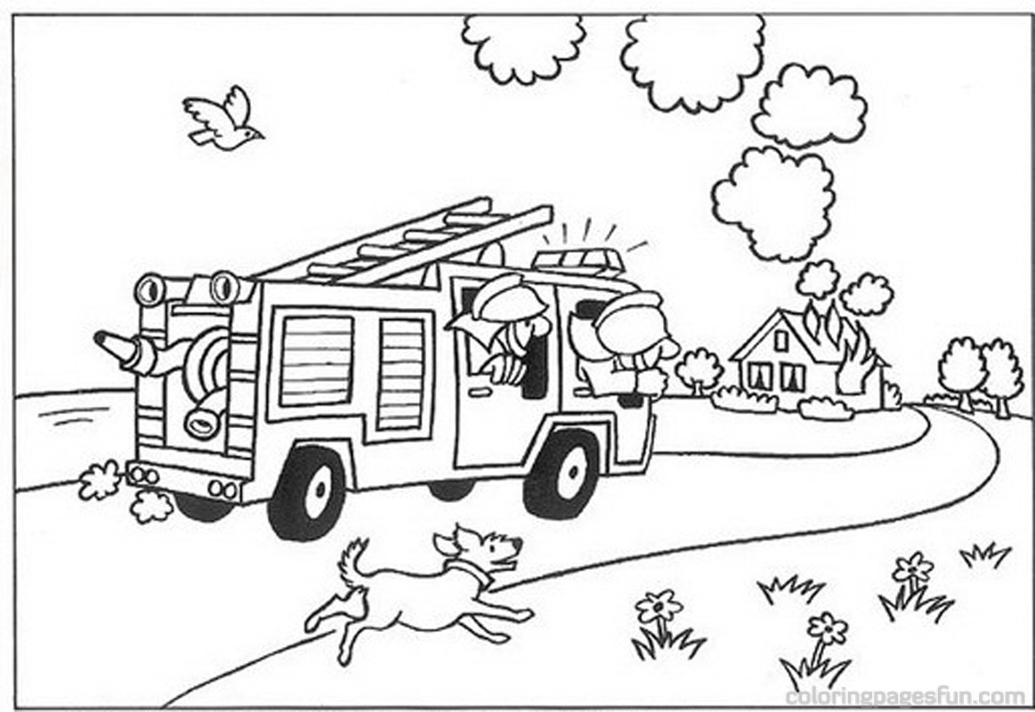 Adult Beauty Firefighters Coloring Pages Images cute firefighter coloring pages fire dog wearing helmet gallery images
