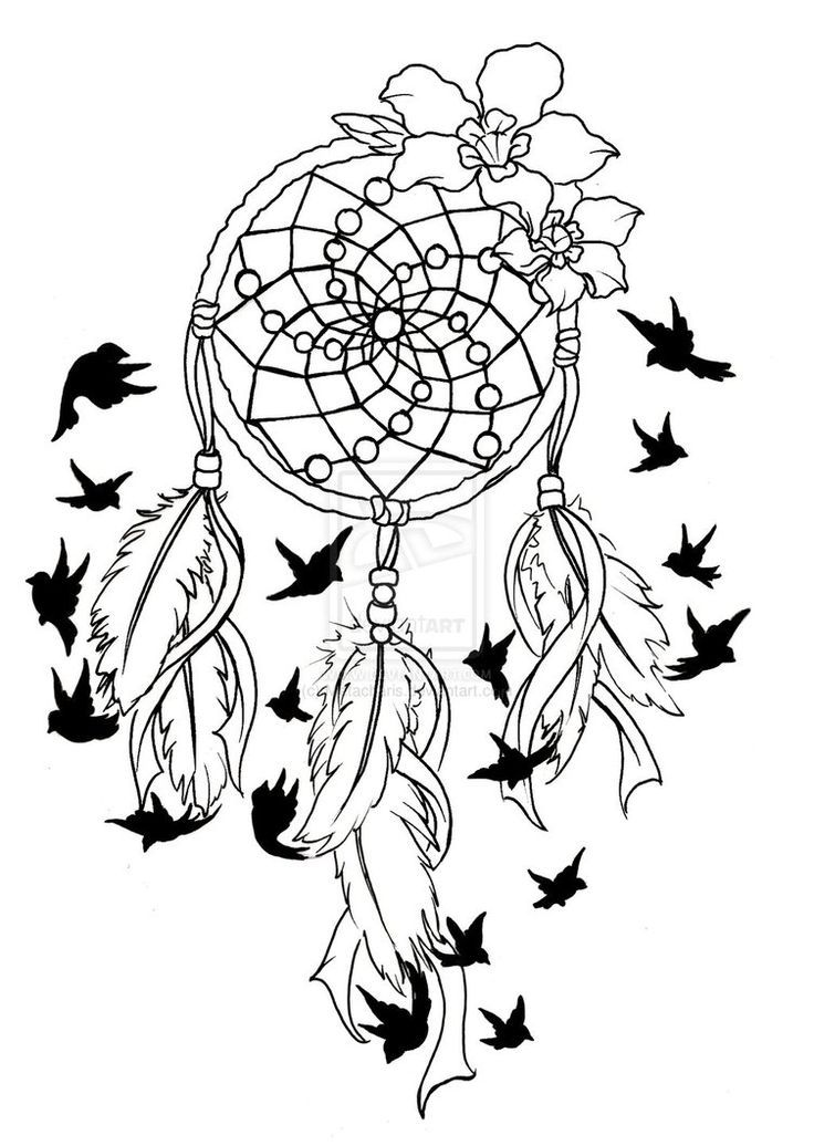dreamcatcher coloring pages - dreamcatcher coloring pages to download and print for free