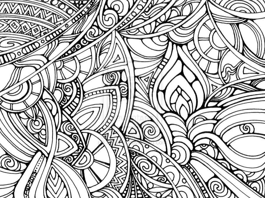 Trippy Art Coloring Pages | Coloring Page