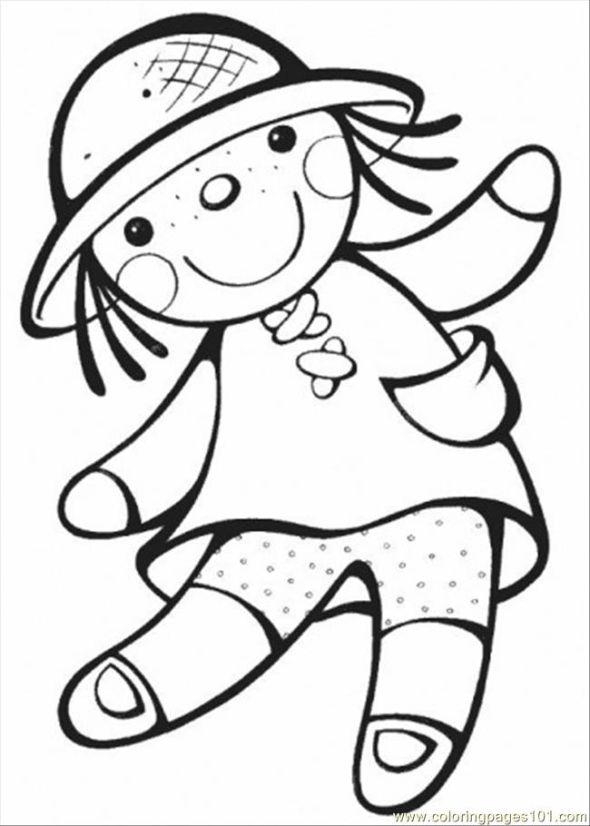 animal coloring pages doll place | Doll coloring pages to download and print for free