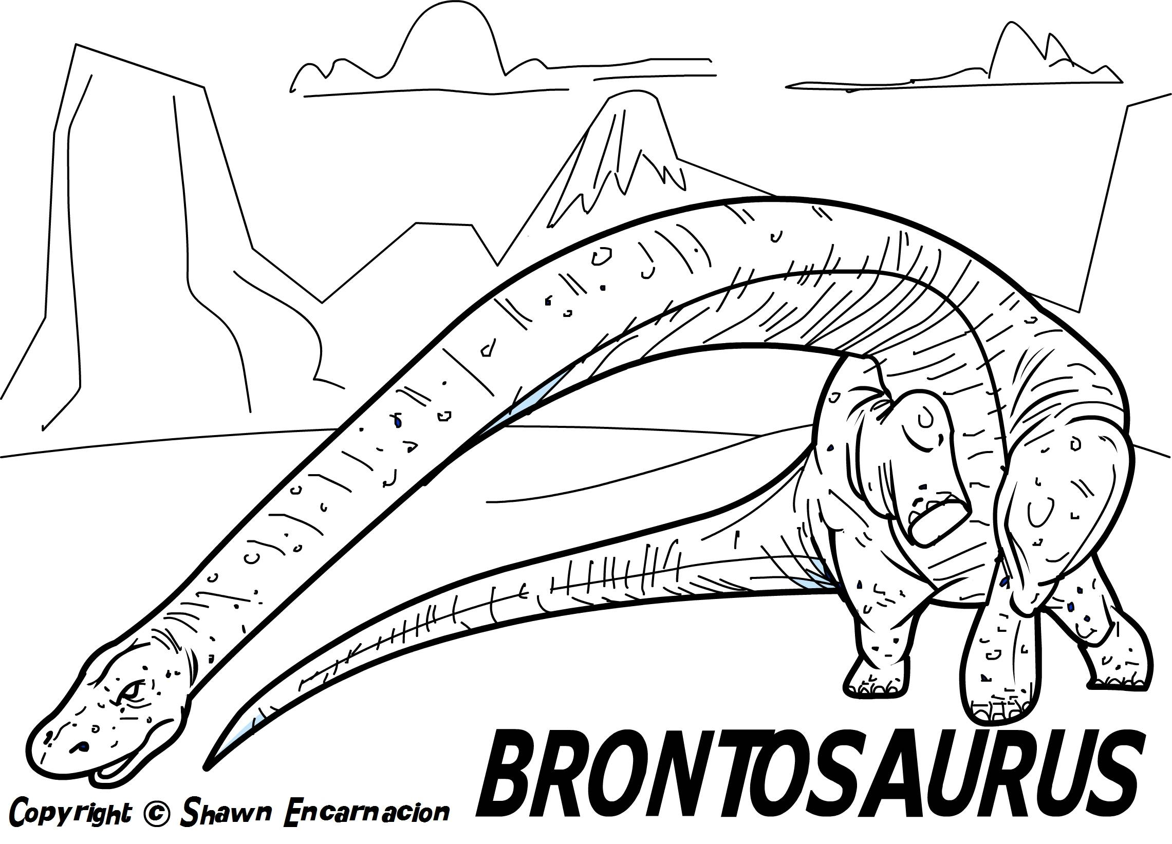 dinosaur facts and coloring pages - photo#27