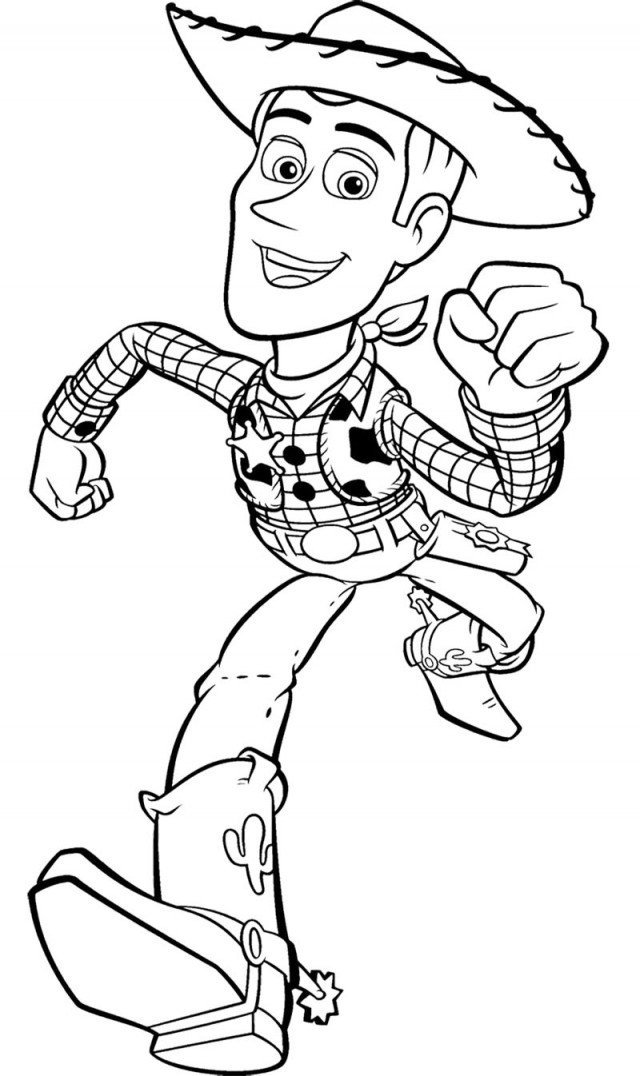 coloring pages of woody - photo#6